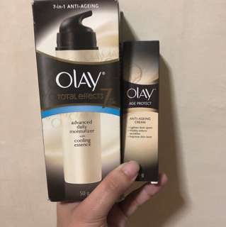 Olay's moisturizer @ anti aging cream bundle