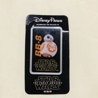 Brand new Star Wars BB-8 pin from Disney
