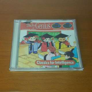 Baby Genius Classics For Intelligence Music CD