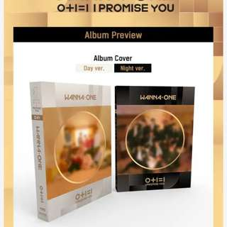 PREORDER WANNA ONE 2ND MINI ALBUM (I PROMISE YOU)
