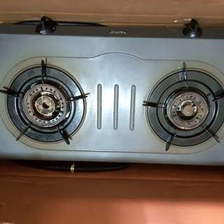 Tecno double burner Gas stove or Table cooker