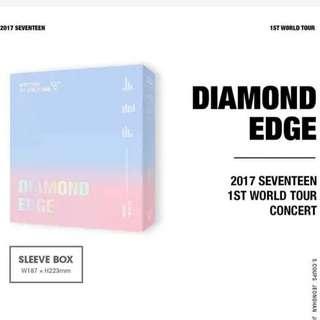 PREORDER SEVENTEEN DIAMOND EDGE 1st World Tour Concert