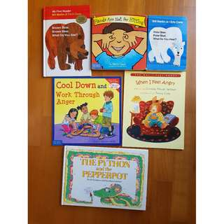A set of books for Toddlers & Preschoolers