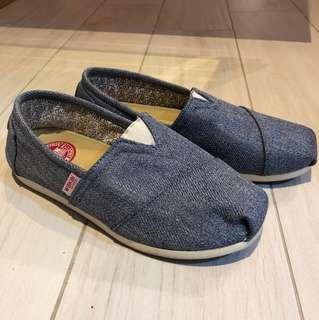 Wakai Shoes in Denim