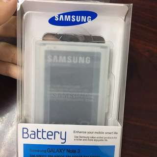 New Samsung Galaxy Note 3 Battery