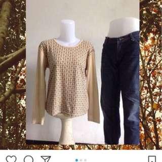 Sweater motif aigner