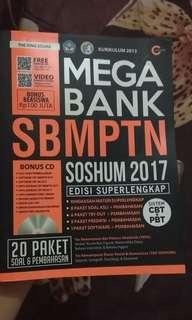 Mega Bank  Soshum SBMPTN 2017