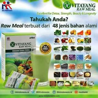 Vitayang raw meal 1 box