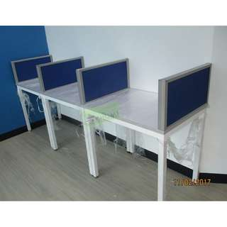 3 SEATER LINEAR WORKSTATIONS--KHOMI