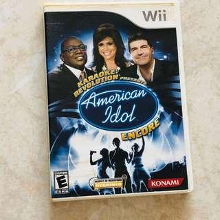 Wii Games American Idol Encore
