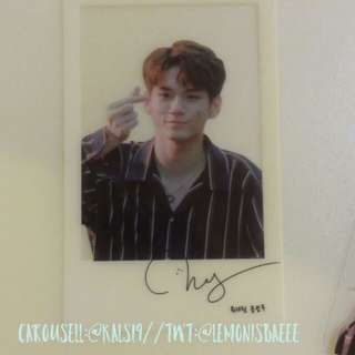 [Unofficial] Ong seungwoo transparent Photocard