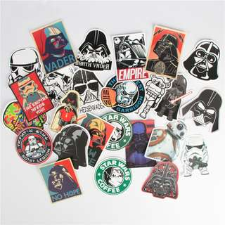 Star Wars Theme Stickers