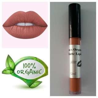 Organic Liquid Matte Lipstick