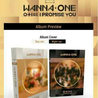 OPEN PO 1 • WANNA ONE - Mini Album Vol.2 [0+1=1(I PROMISE YOU)] (Day Ver. + Night Ver.)
