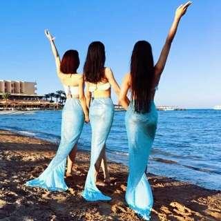 Mermaid Beach Costume (90-135)