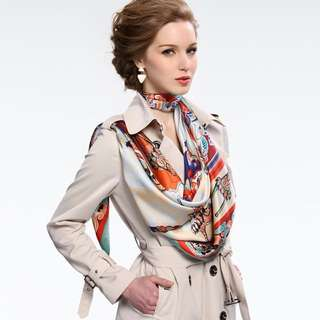 Wear with your Burberry trench coat and your fashionable in the City