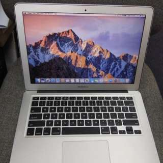 MacBook Air 13 inched 2012 good condition