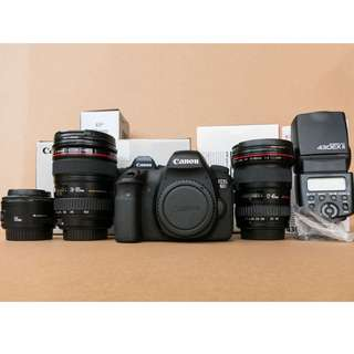 Canon 6D and Lenses