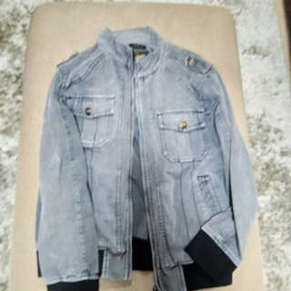 Black Denim Jacket (used)