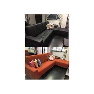 Extreme Sofa cover MAKE OVER