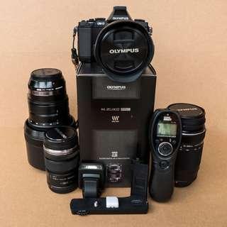 Olympus OMD Em5 / Lenses