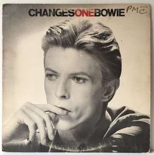David Bowie ‎– ChangesOneBowie (1976 USA Original - Vinyl is Excellent)