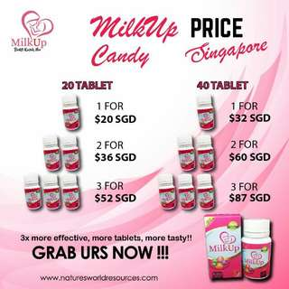 Milkup Candy - Halal milk booster