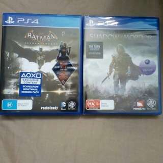 PS4 Games 2for$20
