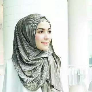 Mulbery Pleats by Vanilla Hijab
