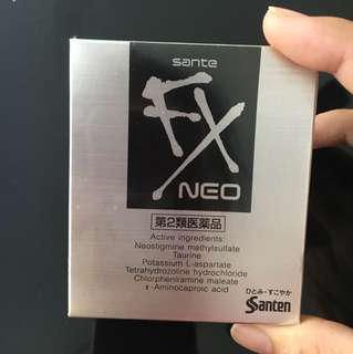 Japan sante fx Neo eye drop