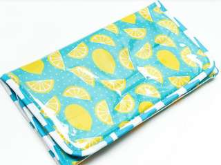 Waterproof Portable Changing Pad - Lemon