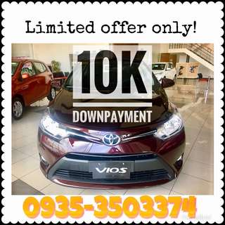 Vios 10k DP limited offer only!