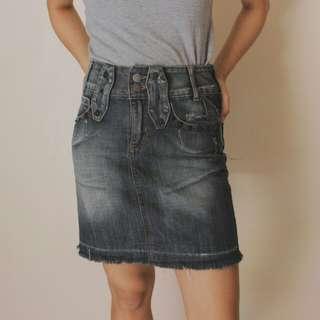 Denim Skirt #1