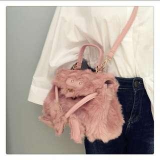 Furry Monster Bag