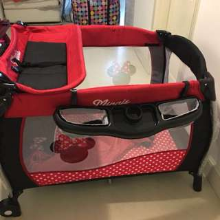 Minnie Mouse Playpen