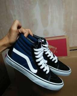 Vans sk8hi Blue&Black