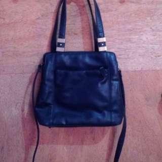 Branded Leather Bag