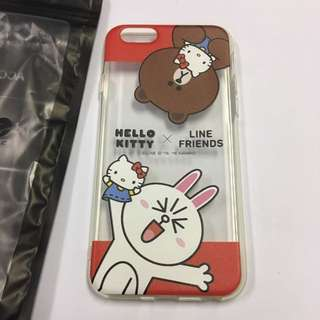 Line friends x Hello kitty iphone6S 電話套