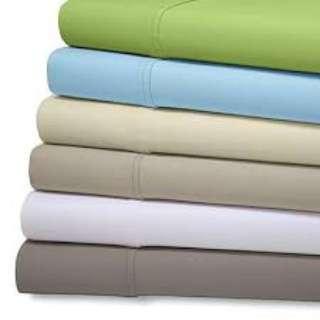Aloe Vera Bamboo Sheet Set - queen size, grey