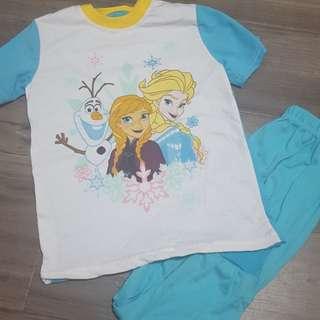 Frozen short sleeve set