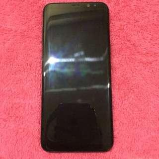 Samsung S8plus 64gb Midnight Black Globelock NTC