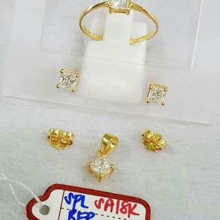Saudi gold set