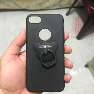 Phone casing ip7 - Black Matt