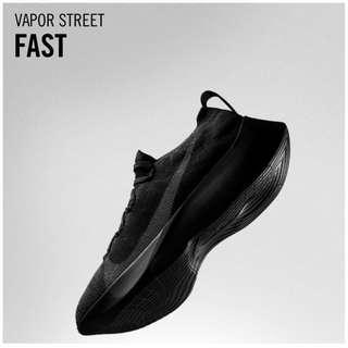 Men's Nike Vapor Street Flyknit BLACK