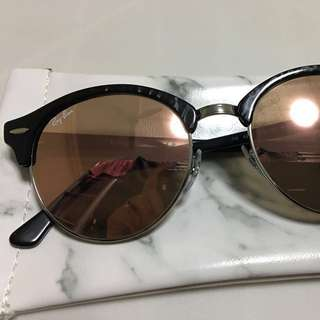 Ray ban clubround flash lens