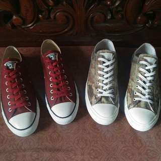 Converse Chuck Taylor All Star and CT AS 2