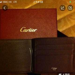 Cartier Leather wallet 真皮銀包