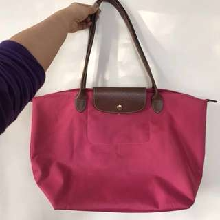 70% new Longchamp large size long shoulder bag