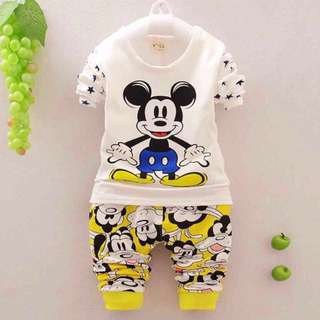 Mickey Mouse long-sleeve set