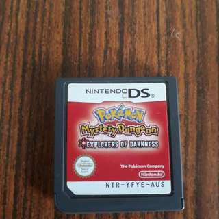 ds/3ds/2ds pokemon mystery dungeon explorers of darkness